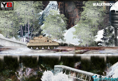 Игра Зимняя миссия на танке