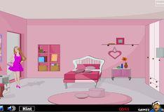 Игра Барби: Побег куклы из комнаты