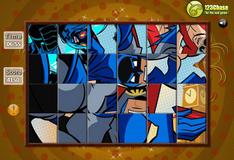 Игра Игра Поверни и установи: Бэтмен