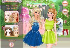 Игра Игра Сёстры Анна и Эльза: Вечеринка
