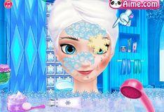 Игра Эльза: Стильный макияж