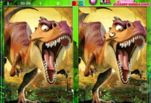 Игра Ледниковый период Эра динозавров Найди отличия