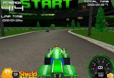 Игра Игра на двоих: Игра Бен 10 ATV 3D