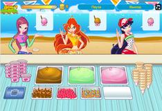 Игра Винкс: Гардения - Магазин мороженого