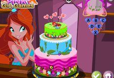 Игра Игра Ангельский торт Винкс