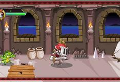 Рыцарь сражается с крокодилом