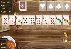 Игра Игра Пасьянс косынка на Диком Западе