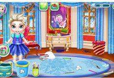 Игра Холодное сердце: Малышка Эльза - Подготовка к школе