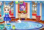 играйте в Игра Холодное сердце Малышка Эльза Подготовка к школе
