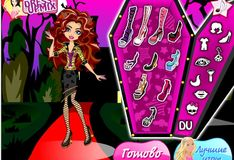 Игра Monster High Fasion