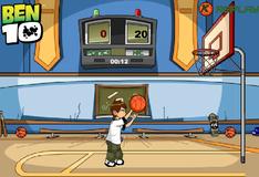 Игра Бен 10 звезда баскетбола