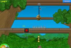 Игра Игра Отрезать верёвку: Медведь 2