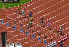 Игра Бег на сто метров