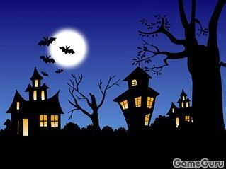 Игра Хеллоуинский паззл