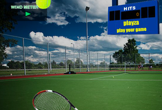 Удар по теннисному мячу