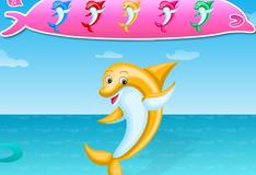 Игра Радостный дельфин Украшалка