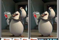 Игра Игра Пингвины Мадагаскара: 6 Различий
