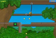Игра Игра Отрежь верёвку Медведи 2