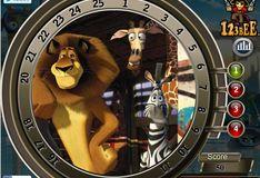 Игра Мадагаскар 3. Найди номера