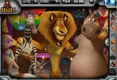 Игра Игра Мадагаскар 3 - Скрытые объекты