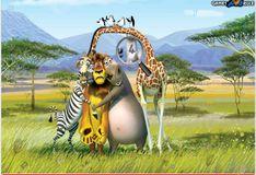 Игра Игра Скрытые числа - Мадагаскар