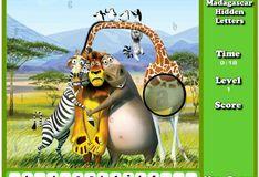 Игра Игра Найди буквы на Мадагаскаре