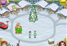 Игра Семейный горнолыжный курорт Эштонов