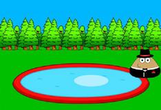Игра Поу у бассейна: пазл