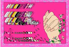 Игра Современный дизайн ногтей