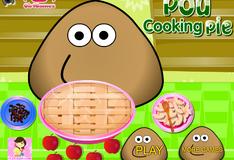 Игра Игра Поу готовит яблочный пирог