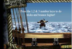 Игра Игра Пираты Карибского моря: Прыжки Джека