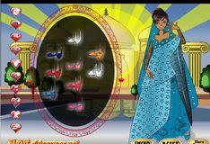 Игра Одевалка - Очаровательная индианка