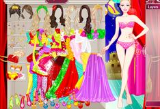 Игра Барби на сцене