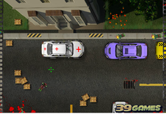 Игра Задавить зомби