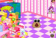 Игра Игра Дизайн комнаты малыша Поу
