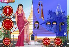 Игра Игра Обаятельная Индийская девочка