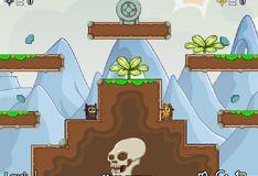 Игра Ниндзя коты и остров черепов 2