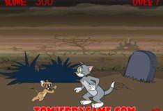 Игра Том и Джерри кладбищенский дух