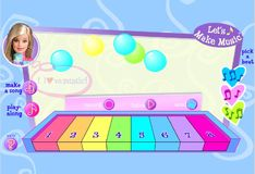 Игра Игра Записываем музыку для Барби