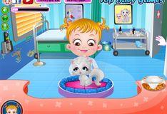 Игра Малышка Хейзел: Ветеринар