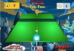 Игра Игра Время приключений Пинг понг