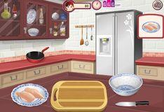 Игра Игра Кухня Сары: Цыпленок Кунг Пао
