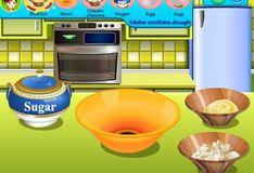 Игра Игра Кухня Сары: сахарное печенье