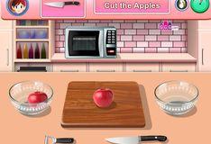 Игра Игра Кухня Сары: Торт Татен