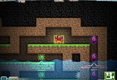 Игра Майнкрафт: Пещеры