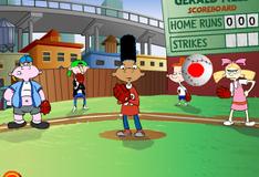 Арнольд играет в бейсбол