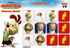 Игра Игра Цыпленок Цыпа: Карты памяти