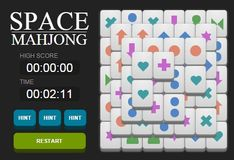 Игра Игра Космический Маджонг