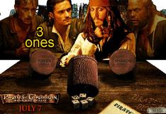 Игра Игральные кости пиратов