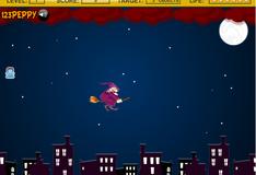 Игра Чародейка летает по небу